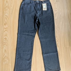 NEW Coldwater Creek Classic Fit Gray Jeans Size 12